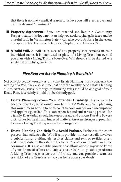 Smart Estate Planning Bellevue Wa