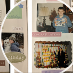 A collage of colorful scrapbook pages for the Legacies that Last: Preserving Your Memories with Legacy Scrapbooks and Heirloom Albums post on the Legacy Estate Planning Blog. Image credit to Heather Agun
